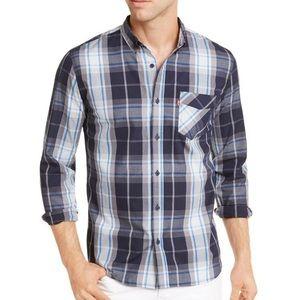 Levi's Men's Osaka Woven Plaid Shirt